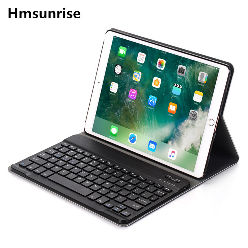 For ipad pro 10.5 Multi-function Removable Wireless Bluetooth Keyboard Case For apple ipad pro 10.5 2017 Tablet A1701 A1709<br>