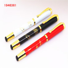 Luxury pens 7039 Colour Welcoming pine Friendship pen Office Medium nib Fountain Pen New Relatives and friends love the gift pe(China)
