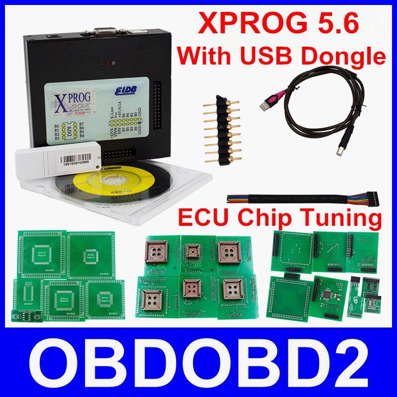 Best Quality XPROG 5.60 Xprog-M Box V5.6 ECU Chip Tuning Programmer X-Prog M V5.60 USB Dongle More New Authorizations Than V5.55<br><br>Aliexpress