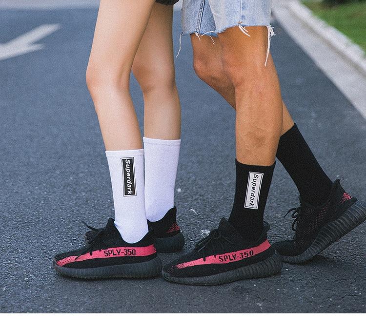 Trend Mark Fashion Funny Socks Man Cute Novelty Street Style Hip Hop Socks Men Cotton Casual Tube Socks For Male Streetwear Meias Sokken Customers First Underwear & Sleepwears