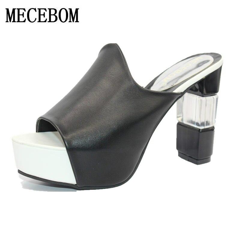 2018 High Heels Ladies Pumps Sexy wedding Shoes Woman Footwear platform bottom Womens summer sandals gladiator flip flops m920W<br>