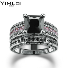 Unique Style Women Rings Punk Fashion Flying Wings Like Victory Flag Inlay Cubic Zirconia Shiny Ring Ornament RB695(China)