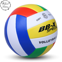 New Quality goods ship inflatable soft volleyball 5 the actual game in adult men and women training examination