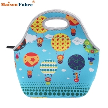 New Fashion Lunch Bag Thermo Thermal Insulated Neoprene Lunch Bag Women Kids Lunchbags Tote Cooler Lunch Box Insulation Bag