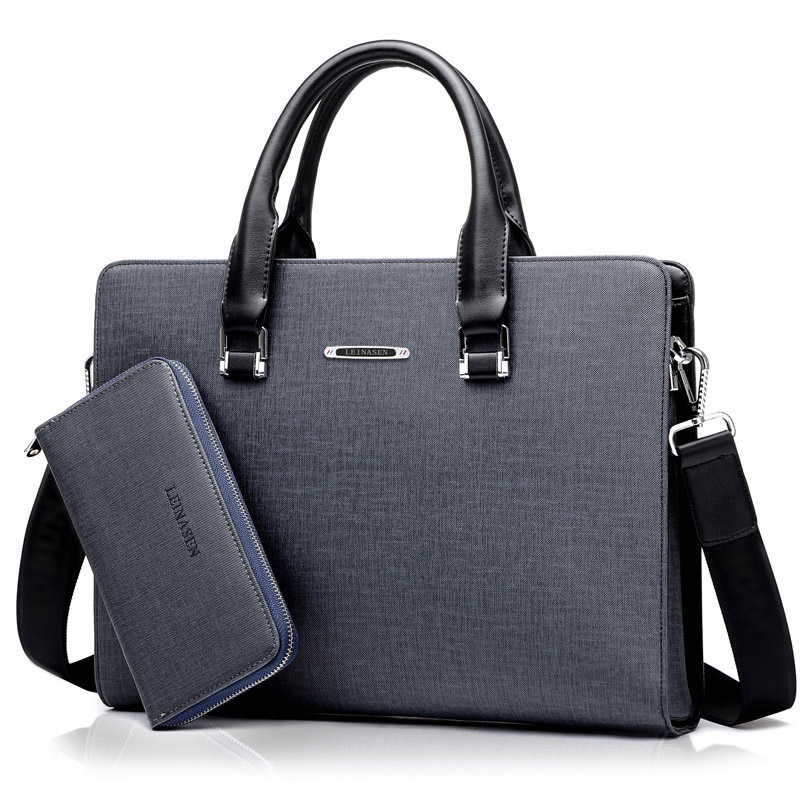 New Laptop Briefcase Bags For Men Casual PU Leather Totes Business Male Multifunction Shoulder Messenger Men Bag Fashion Handbag<br>