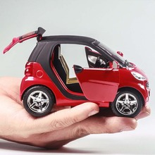 Children's Toy Car Smart Alloy Car Boy Toy Car Model Baby Inertia Back of The Car(China)