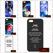Zodiac Constellations Cover case for font b iphone b font 4 4s 5 5s 5c 6