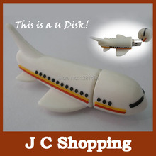 free shipping   drop shipping toy plane Model 2GB 4GB 8GB USB 2.0 Flash Memory Stick Drive U Disk Festival Thumb/Car/Pen Gift
