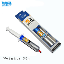 PCCooler A3 cpu cooling silicon grease weight 30g needle type CPU GPU South Bridge North Bridge thermal conductive silicone(China)