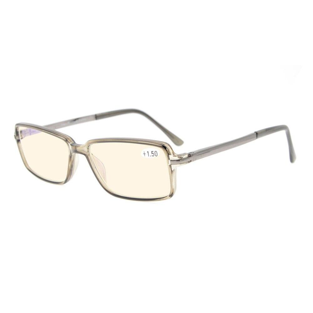 MTR006 Eyekepper Classic Rectangle TR90 Spring Hinges Bifocal Multifocus Glasses 3 Levels Vision Reading Glasses Anti Glare<br><br>Aliexpress