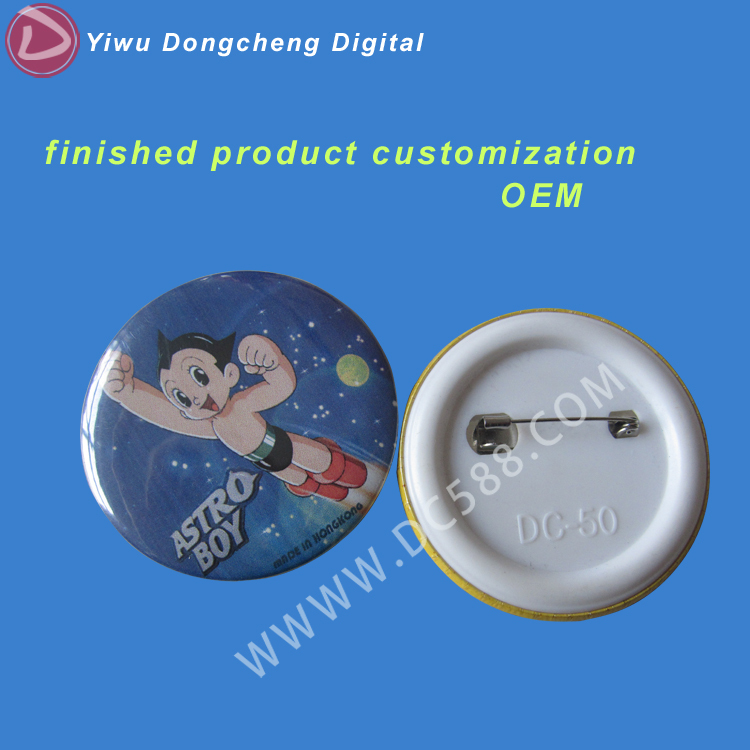 Professional / customized production and processing badges 50mm DIY button badge 100pcs<br>