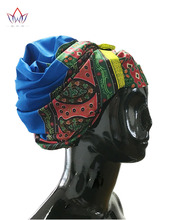 New Designs African Gele Head Tie & Wrapper High Quality Hair Accessories Headtie Dashiki Sego Bazin Rich 12 Colors BRW01(China)