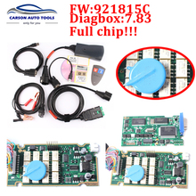 High quality A+Lexia Full Chip Lexia 3 V48 Diagbox V 7.65 PP2000 V25 Lexia3 Firmware 921815C For Citroen Peugeot DHL free(China)