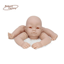 Fashion Vinyl Baby Kits For 22 inches Reborn Baby Dolls DIY Doll Kits Accessories