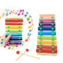 selling wooden children's educational toys, eight scales on piano Beating the xylophone Early childhood music instruments
