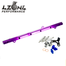 LZONE RACING - NEW FUEL RIAL FOR TOYOTA SUPRA ARISTO 2JZ TURBO JZA80 UPGRADE 92-02 RACING FUEL RAIL KIT JR5433P