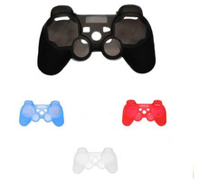 Selling Silicone Protective Skin Case Cover For Sony for PlayStation 3 for PS3 Controller Free Shipping