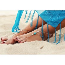 1PC Summer Anklet Bracelets Bohemian Ankle Bracelet Beach Wedding Foot Bracelet Gothic Jewelry Barefoot Sandals Chain