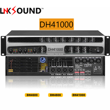Professional power amplifier 1000w 4-channel professional stage amplifiers for subwoofer DH41000 4x1500W@4ohms Bridge 2x3000watt(China)