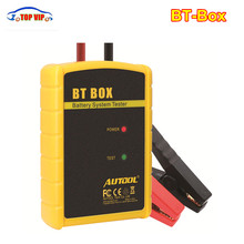 2017 Offical Newest AUTOOL BT BOX BT-BOX Car Battery tester Support Android/ISO Power Function Car Automotive Battery Analyzer