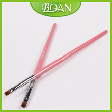 Wholesale New Nail Art Nail Brush UV Gel Brush Supplier UV Gel Art Brushes #4 Free shipping 20 Pcs