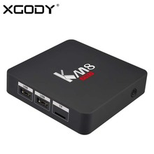 XGODY KM8 Pro Android TV Box 2GB 8GB Amlogic S912 Octa Core WiFi HD 4K KODI 17.1 Fully Loaded Media player Smart TV Box Netflix(China)