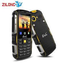 Original E&L S600 2.4 inch Mobile Phone IP68 Waterproof Dustproof GSM FM Keyboard 2000mAh Cellphone Unlocked Military Phone(China)