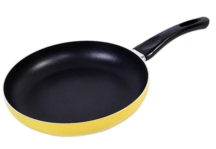 Yellow fry pan