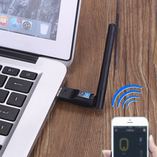 150Mbps Mini USB Wireless N WiFi Bluetooth 4.0 WLAN Network Adapter with Antenna IEEE 802.11n/g/b for Windows 7/8/10/Linux/Mac(China)
