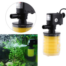 3 in 1 FishTank Filter Oxygen Pump Water Quality Purifier Tool EU Plug Aquarium Filter