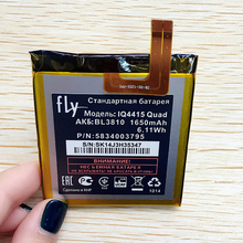 CUUSEY Cell Phone Battery BL3810 For Fly IQ4415 Quad IQ 4415 Q High Quality Original BL 3810 1650mAh Accumulator In stock Track(China)