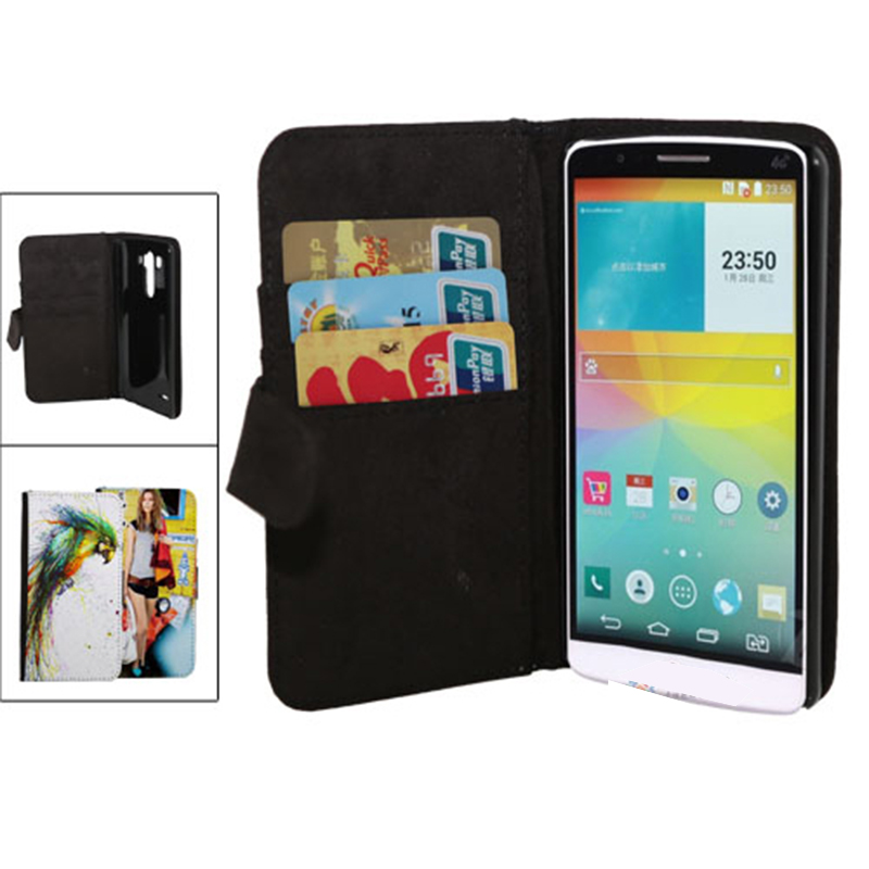 CUSTOM LG G3 FLIP LEATHER CASE 03