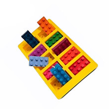 Silicone Lego Blocks Shape Bake Mold For Cake Cookie Candy Chocolate Ice Cube Tray Cooking Baking Tools