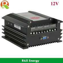 400W 12V wind/solar hybrid controller with RS232 communication device , 400W charge controller with monitoring software