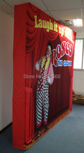 8ft Easy Assembled Velcro Connection Pop Up Backdrop Stand,Expo Pop Up Display Stand,Backdrop Wall