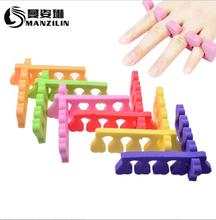 EVA Sponge foam toe  Finger separator Nail Tools Nail Art Salon Pedicure Manicure Tool Feet Care 1 pair