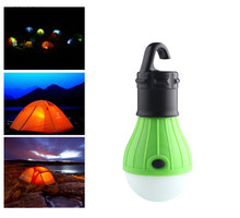 Soft Light Outdoor Hanging LED Camping Tent Light Bulb Night Fishing Lantern Lamp Lamparas 800 Lumens 3 LED Lights