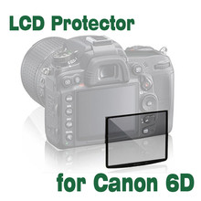 1Pcs Professional LCD Optical Glass Screen Protector for Canon 6D Compact Glass Protective Film camera accessories