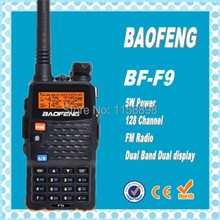 DHL Freeshipping+BaoFeng BF-F9 vhf uhf dual band Interphone Transceiver Two Way Radio Handled Intercom Cheap Price CB Radio uvf9