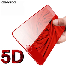 Buy 5D Curved Screen Protector iPhone 7 7Plus 5D Edge Full Cover Film iPhone 7 7 Plus Tempered Glass Film Ultra-thin Glass for $3.46 in AliExpress store