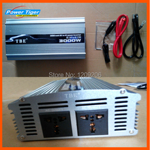 TBE 3000W Sine Wave USB Power Inverter Car Boat Truck DC 24V- AC 220V Converter Auto Adapter With Cigarette Lighter Plug