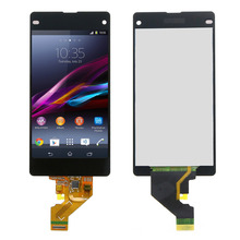 Black Tested LCD For Sony Xperia Z1 compact z1 mini M51w D5503 LCD Display Touch Screen with Digitizer Assembly Replacement+tool