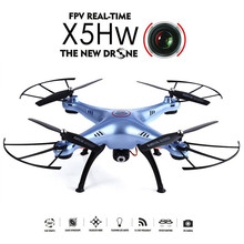 Original Syma X5HW 2.4G 4CH 6Axis FPV Real Time With 2MP Camera RC Quadcopter Child Toys Present(China)