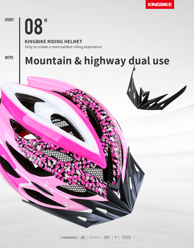 Cycling Helmet Pink Woman Road Bicycle Helmet-8