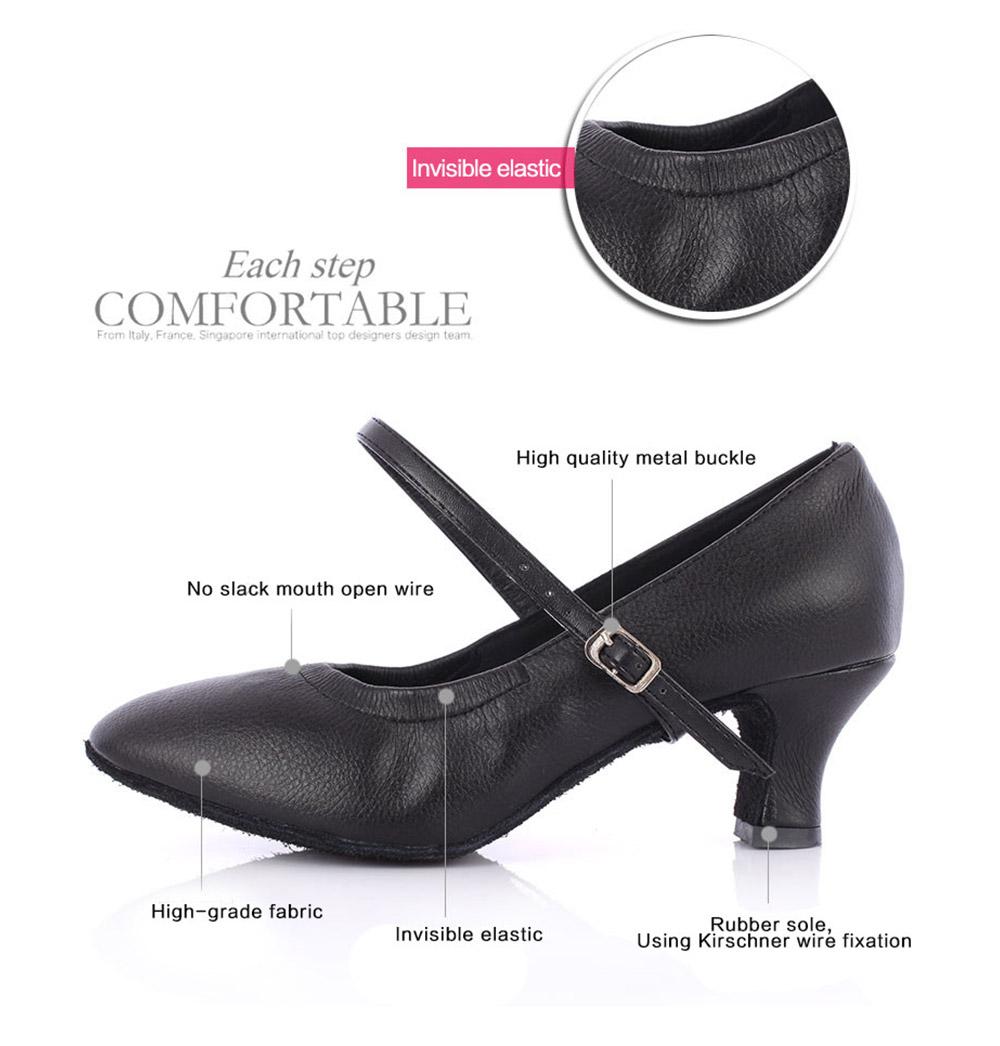 Hot Selling Latin Dancing Shoes For Women Soft Bottom Tango Shoes 57Cm Modern Salsa Dance Shoes Female Ballroom Dancing Shoes (1)