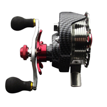Left/Right hand front end raft fly fishing reel Micro-round lead raft fishing reel for fishing peche carretilha para pesca Left(China)