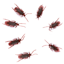 10Pcs Prank Funny Trick Joke Special Lifelike Roach Models Fake Cockroaches Toys Store 34