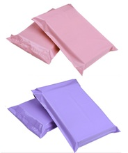 Jolly 1.17 100pcs/lot Pink&Purple Express Bags Poly Mailer Mailing Bags Large Envelope Self Adhesive Seal Plastic Bags(China)