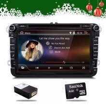 2 Din 8 inch Quad core Android vw car dvd for Polo Jetta Tiguan passat b6 cc fabia mirror link wifi Radio CD in dash