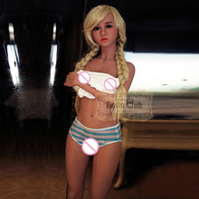 2017 Newest 156cm Real Sex Doll Little Breast RealLife Cute Girl Doll Realistic Silicone Tan Skin Vagina Ass Doll With Skeleton(China)